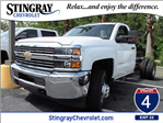 2016 Silverado 3500 Regular Cab 4x4, Cab Chassis #GF251912 - photo 1