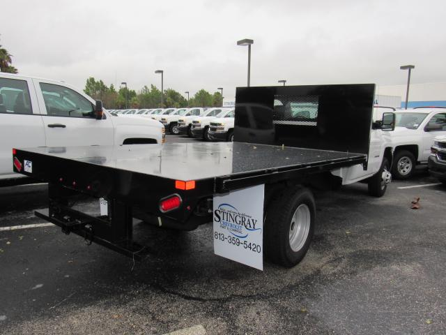 2016 Silverado 3500 Regular Cab 4x4, American Commercial Platform Body #GF268716 - photo 4