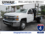 2016 Silverado 3500 Regular Cab 4x4, American Commercial Platform Body #GF268716 - photo 1