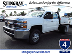 2016 Silverado 3500 Crew Cab, Knapheide Platform Body #GF280855 - photo 1