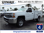 2016 Silverado 2500 Regular Cab, Reading Service Body #GZ317654 - photo 1