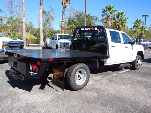2017 Silverado 3500 Crew Cab DRW, CM Truck Beds Platform Body #HF118728 - photo 2
