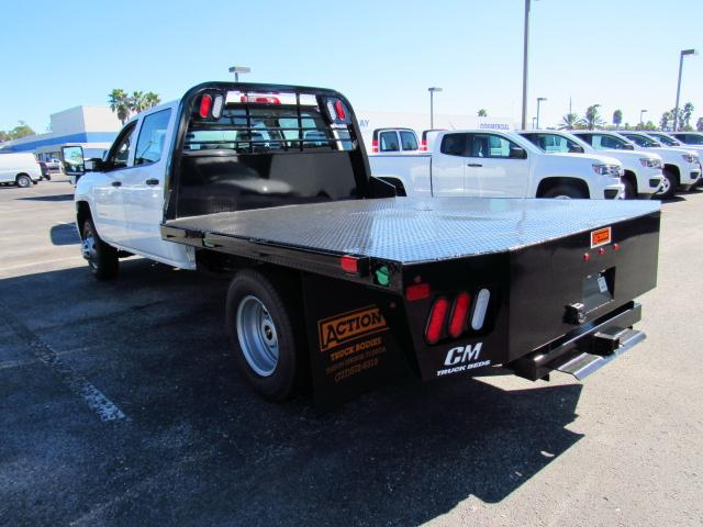 2017 Silverado 3500 Crew Cab DRW, CM Truck Beds Platform Body #HF118728 - photo 5