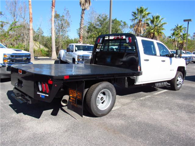 2017 Silverado 3500 Crew Cab DRW, CM Truck Beds RD Model Platform Body #HF118728 - photo 2