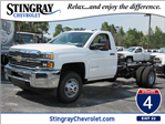 2017 Silverado 3500 Regular Cab 4x4, Cab Chassis #HF227611 - photo 1