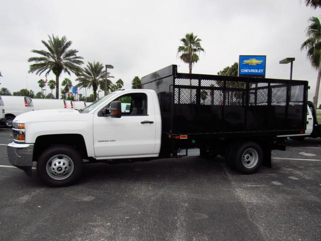 2017 Silverado 3500 Regular Cab 4x4 Landscape Dump #HF238296 - photo 3