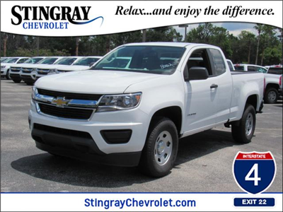 2018 Colorado Extended Cab 4x2,  Pickup #J1288002 - photo 1
