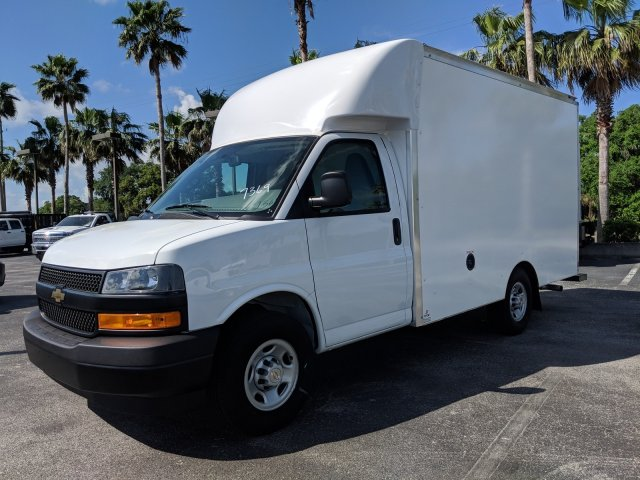2018 Express 3500 4x2,  Supreme Spartan Cargo Cutaway Van #J1337369 - photo 8