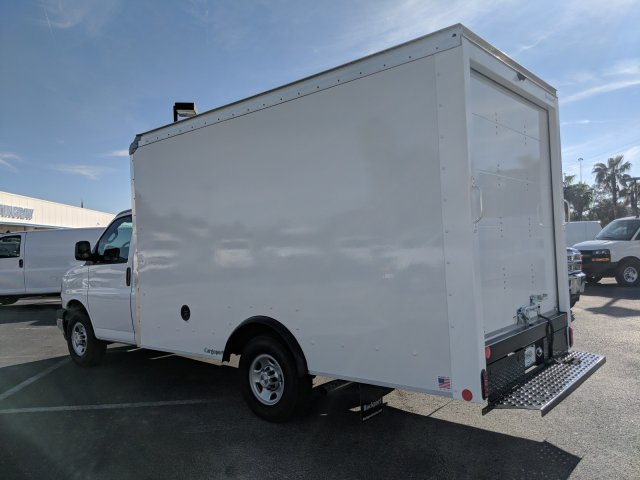 2018 Express 3500 4x2,  Rockport Cargoport Cutaway Van #J1339541 - photo 6