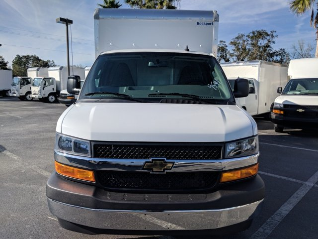 2018 Express 3500 4x2,  Rockport Cargoport Cutaway Van #J1339541 - photo 7