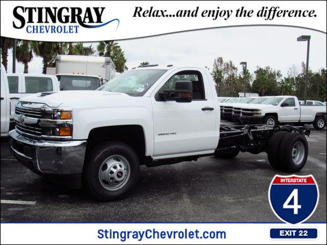 2018 Silverado 3500 Regular Cab DRW Cab Chassis #JF132787 - photo 1