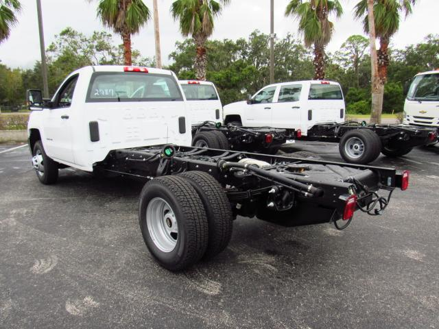 2018 Silverado 3500 Regular Cab DRW, Cab Chassis #JF132787 - photo 2