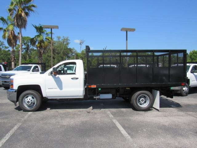 2018 Silverado 3500 Regular Cab DRW 4x4,  Action Fabrication Landscape Dump #JF133908 - photo 3