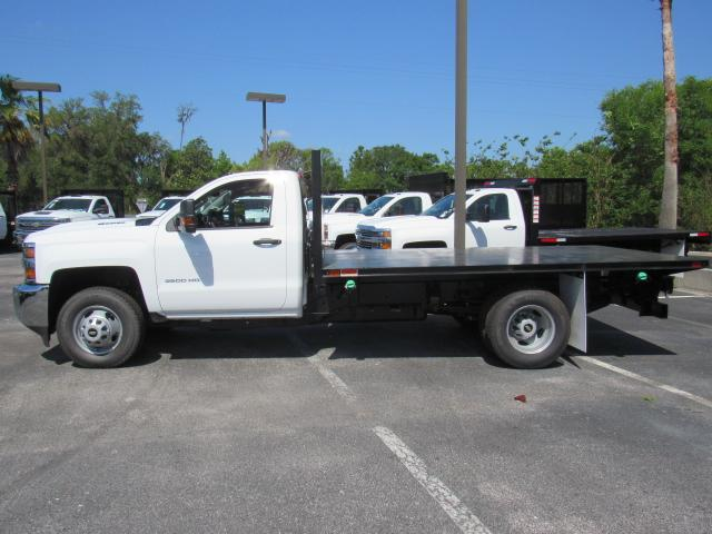 2018 Silverado 3500 Regular Cab DRW 4x4, Action Fabrication Platform Body #JF135774 - photo 3