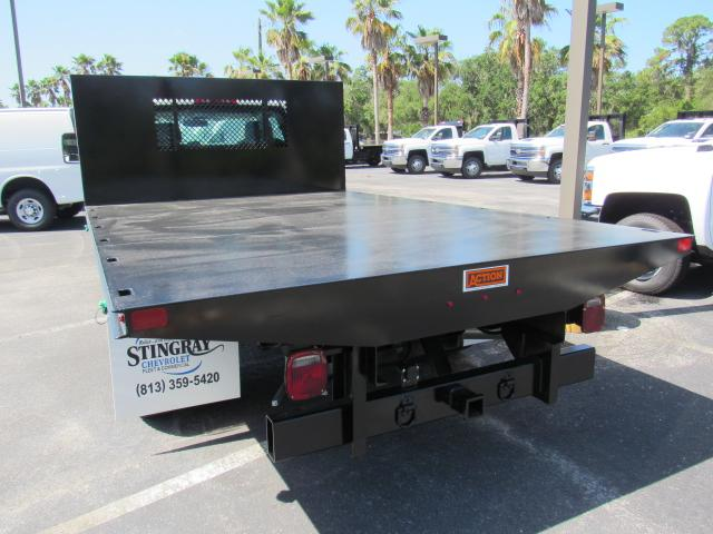 2018 Silverado 3500 Regular Cab DRW 4x4, Action Fabrication Platform Body #JF135774 - photo 2