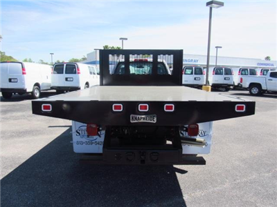 2018 Silverado 3500 Regular Cab DRW 4x4,  Knapheide Value-Master X Platform Body #JF136733 - photo 4
