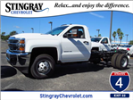 2018 Silverado 3500 Regular Cab DRW 4x4, Cab Chassis #JF136733 - photo 1