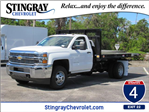 2018 Silverado 3500 Regular Cab DRW 4x4, Knapheide Platform Body #JF137323 - photo 1
