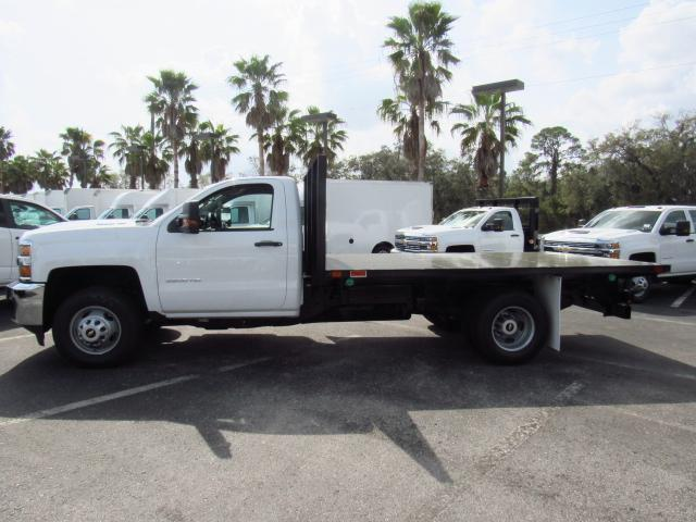 2018 Silverado 3500 Regular Cab DRW 4x4, Action Fabrication Platform Body #JF138069 - photo 3