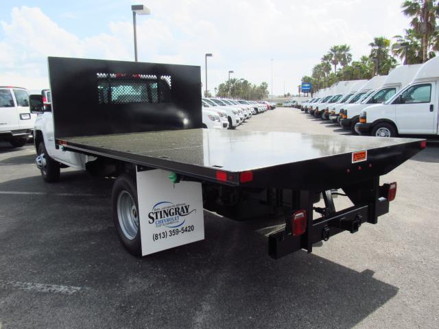 2018 Silverado 3500 Regular Cab DRW 4x4, Action Fabrication Platform Body #JF138069 - photo 2
