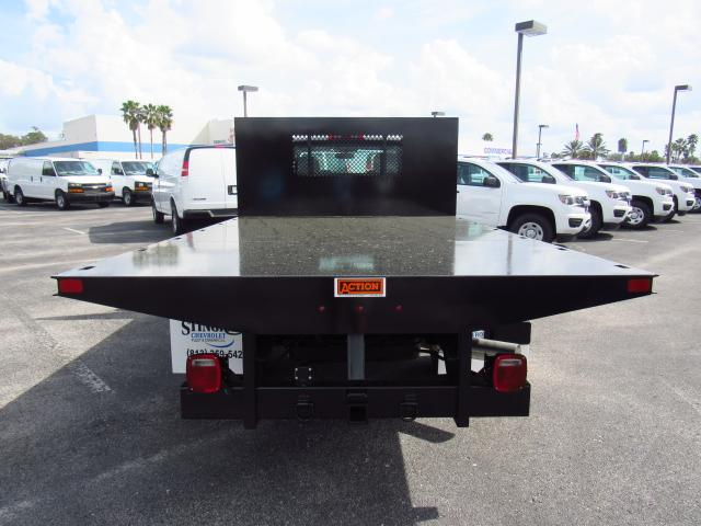 2018 Silverado 3500 Regular Cab DRW 4x4, Action Fabrication Platform Body #JF138069 - photo 4