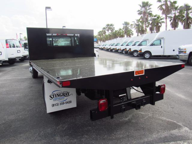 2018 Silverado 3500 Regular Cab DRW 4x2,  Action Fabrication Platform Body #JF153767 - photo 2