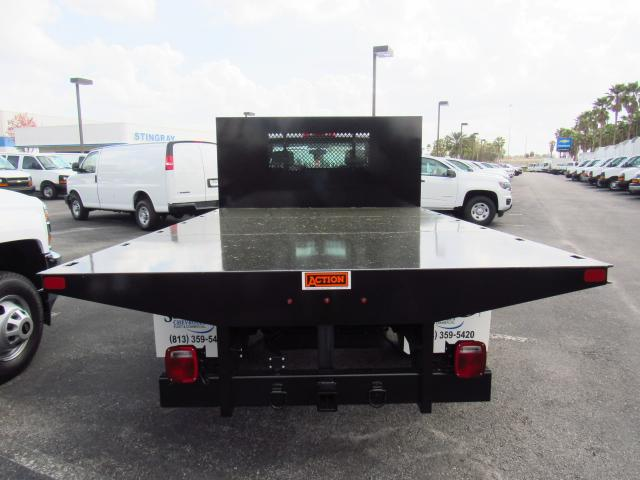 2018 Silverado 3500 Regular Cab DRW, Action Fabrication Platform Body #JF153767 - photo 3
