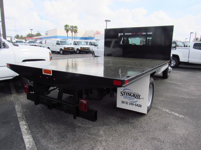 2018 Silverado 3500 Regular Cab DRW, Action Fabrication Platform Body #JF153767 - photo 4