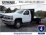 2018 Silverado 3500 Regular Cab DRW 4x2,  Action Fabrication Platform Body #JF153767 - photo 1