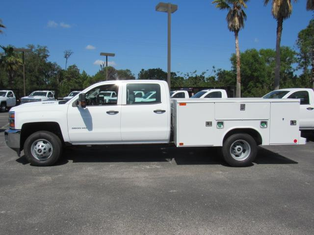 2018 Silverado 3500 Crew Cab DRW 4x4, Service Body #JF159266 - photo 3