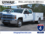 2018 Silverado 3500 Crew Cab DRW 4x4, Service Body #JF159266 - photo 1