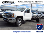 2018 Silverado 3500 Regular Cab DRW 4x4, Cab Chassis #JF174639 - photo 1