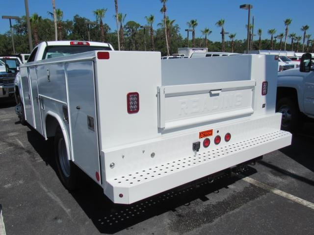 2018 Silverado 3500 Regular Cab DRW 4x4,  Reading Service Body #JF214197 - photo 2