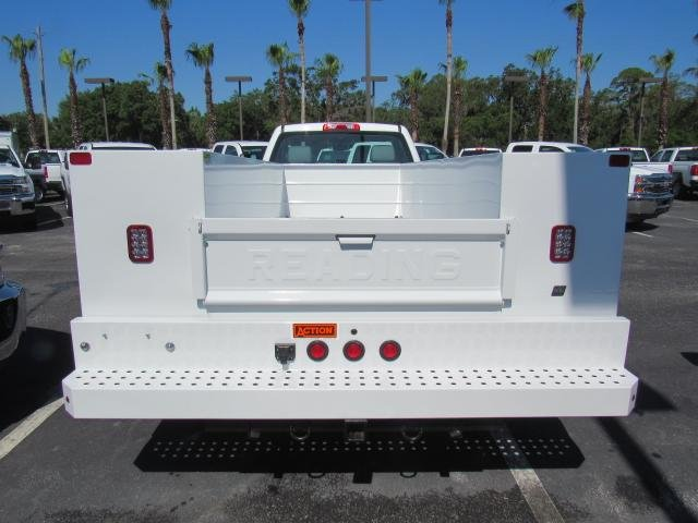2018 Silverado 3500 Regular Cab DRW 4x4,  Reading Service Body #JF214197 - photo 4