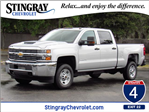 2018 Silverado 2500 Crew Cab 4x4,  Pickup #JF214831 - photo 1