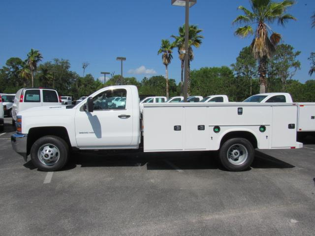 2018 Silverado 3500 Regular Cab DRW 4x4, Service Body #JF215859 - photo 3