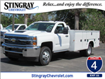 2018 Silverado 3500 Regular Cab DRW 4x4, Service Body #JF215859 - photo 1