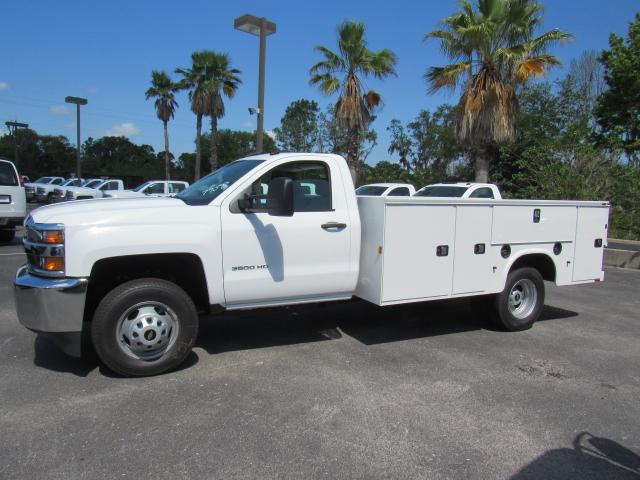 2018 Silverado 3500 Regular Cab DRW, Service Body #JF227958 - photo 3