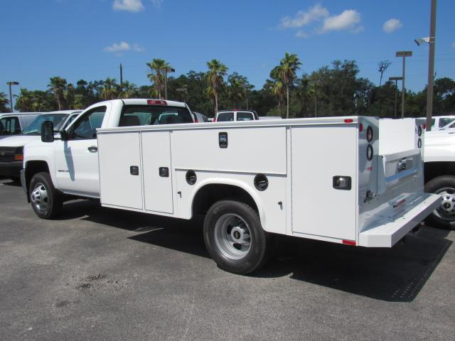 2018 Silverado 3500 Regular Cab DRW, Service Body #JF227958 - photo 2