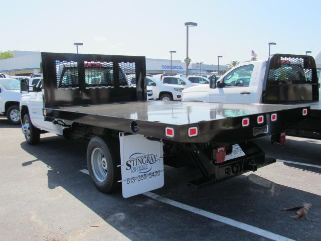 2018 Silverado 3500 Regular Cab DRW, Platform Body #JF229835 - photo 2