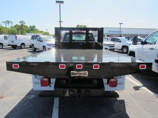 2018 Silverado 3500 Regular Cab DRW, Platform Body #JF229835 - photo 4