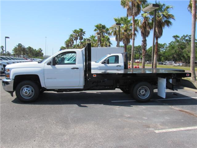 2018 Silverado 3500 Regular Cab DRW,  Knapheide Value-Master X Platform Body #JF229835 - photo 3