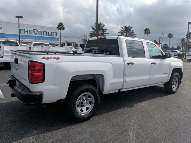 2018 Silverado 1500 Crew Cab 4x4,  Pickup #JG574840 - photo 2