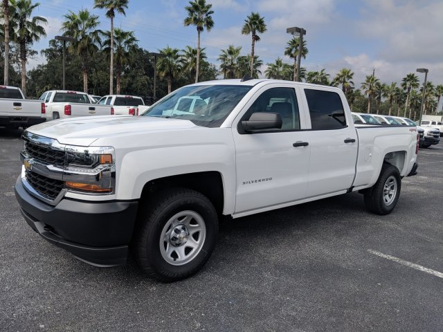 2018 Silverado 1500 Crew Cab 4x4,  Pickup #JG574840 - photo 7