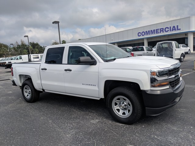 2018 Silverado 1500 Crew Cab 4x2,  Pickup #JG581590 - photo 4