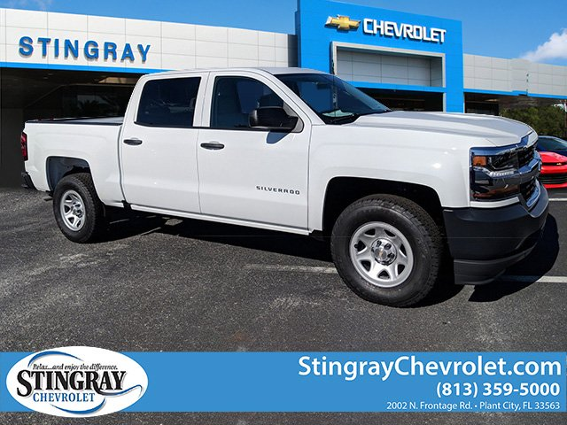 2018 Silverado 1500 Crew Cab 4x2,  Pickup #JG586990 - photo 1