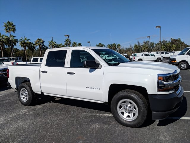 2018 Silverado 1500 Crew Cab 4x2,  Pickup #JG586990 - photo 3