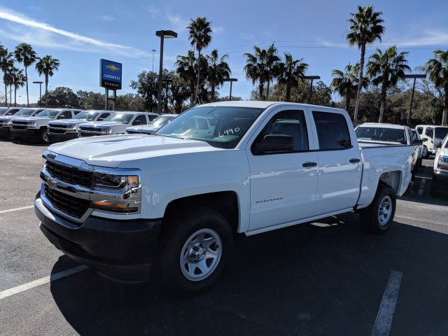 2018 Silverado 1500 Crew Cab 4x2,  Pickup #JG586990 - photo 7