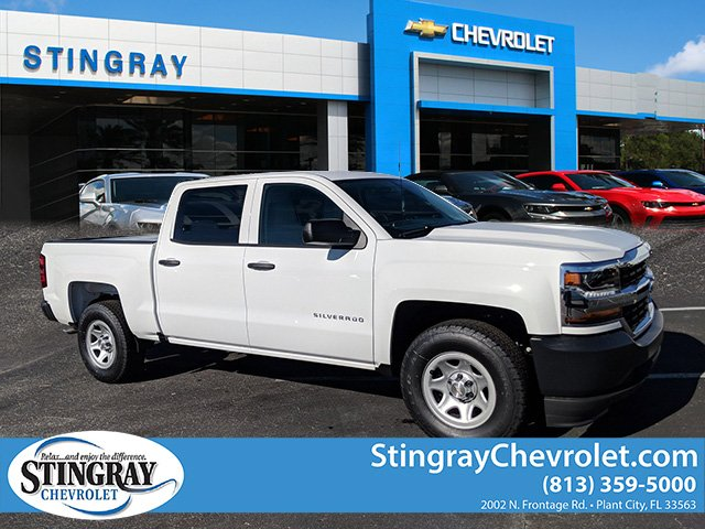 2018 Silverado 1500 Crew Cab 4x2,  Pickup #JG594555 - photo 1