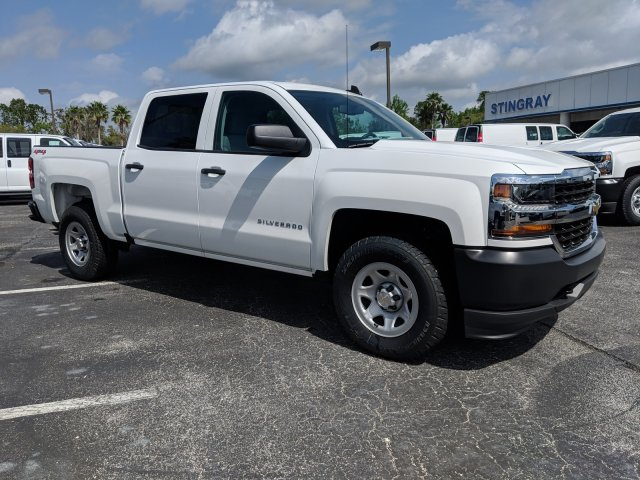 2018 Silverado 1500 Crew Cab 4x4,  Pickup #JG623442 - photo 3